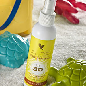 aloe vera sunscreen spray spf ultimate aloe vera forever living